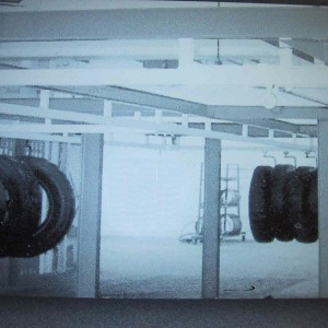 Tire Retread Monorail Conveyor System
